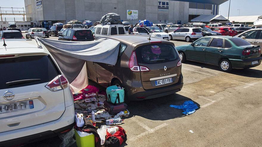 La crisis sanitaria en Argelia deja en el aire la Operación Paso del Estrecho entre Alicante y Orán