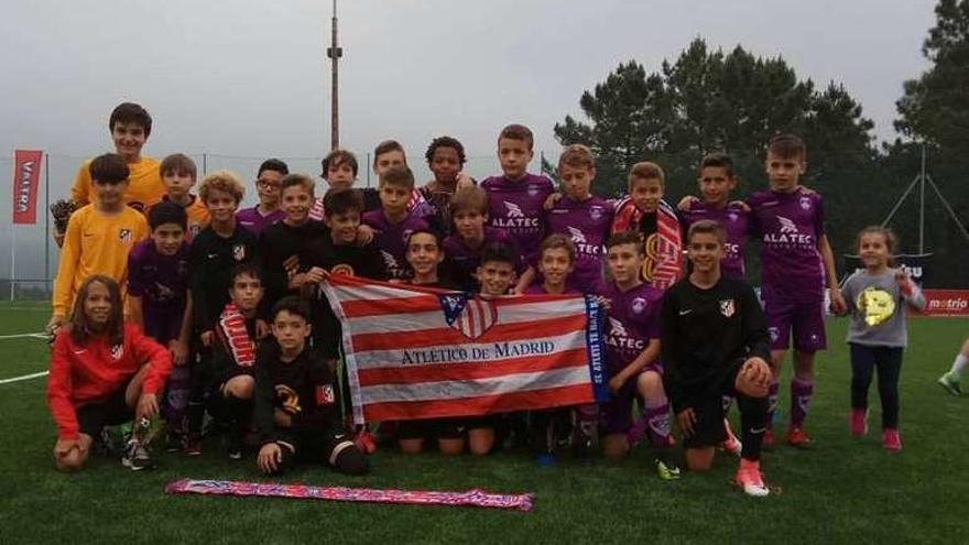 El Atlético de Madrid revalida el título y conquista la IX Galo Cup del Cruces