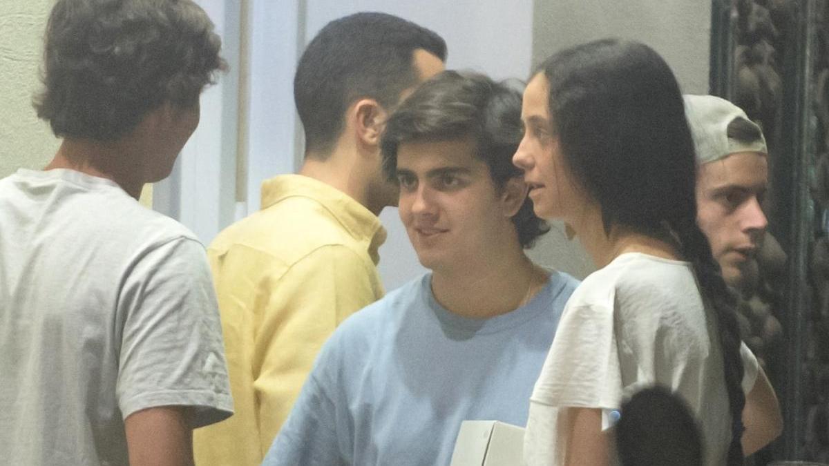 Victoria Federica y Jorge Bárcenas.
