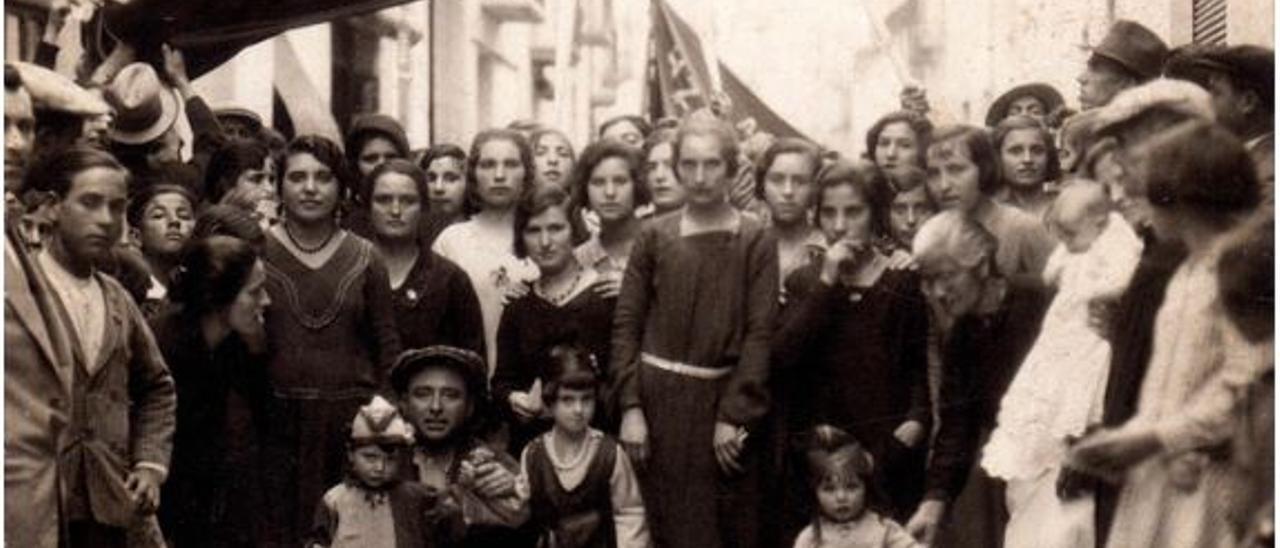 Una de las imágenes de la exposición en el Centro Gómez Tortosa..