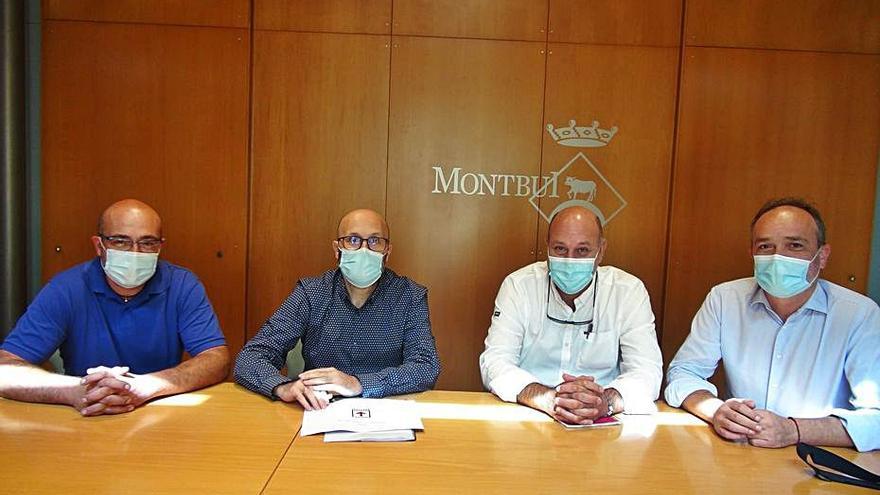Texpaper Service, primera empresa que s'instal·la als Plans de la Tossa de Montbui