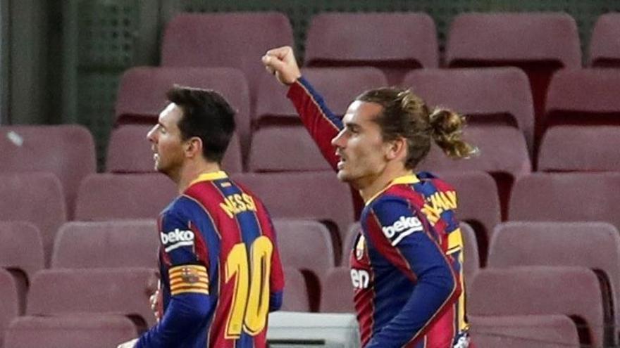 Messi sale al rescate del Barcelona ante el Levante