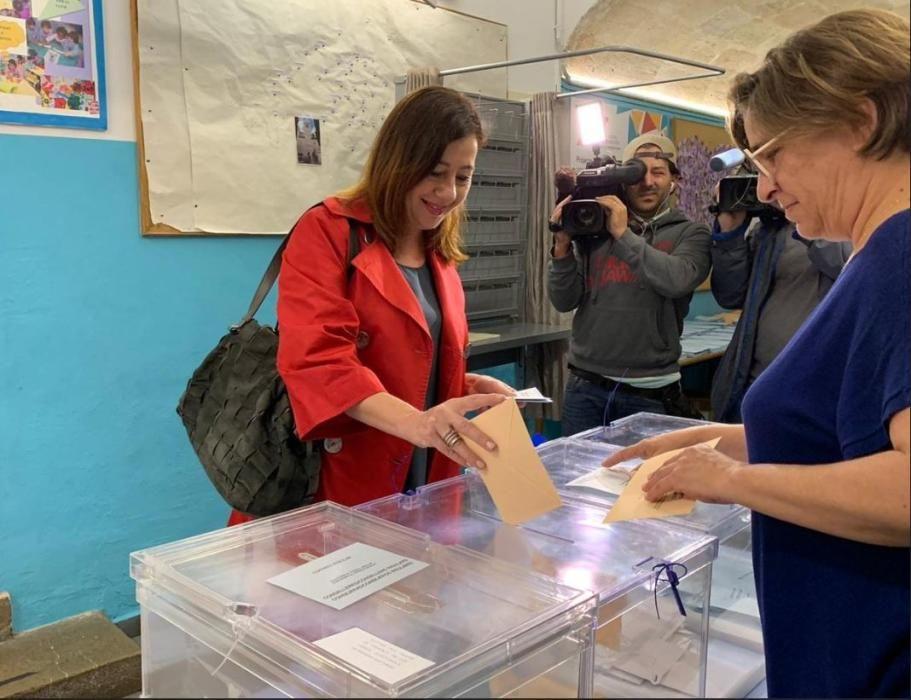 Francina Armengol, candidata del PSIB al Parlament