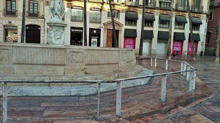 La baqueteada valla de la fuente de Génova