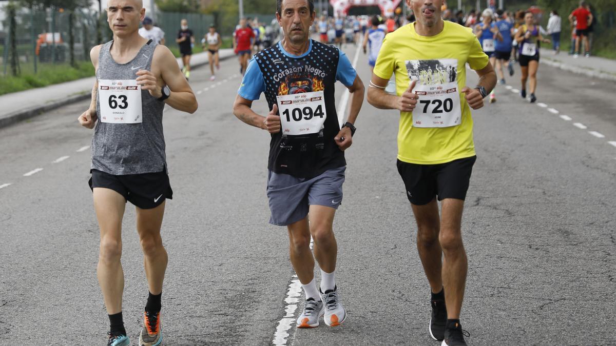 En imágenes: así fue la Media Maratón de Gijón