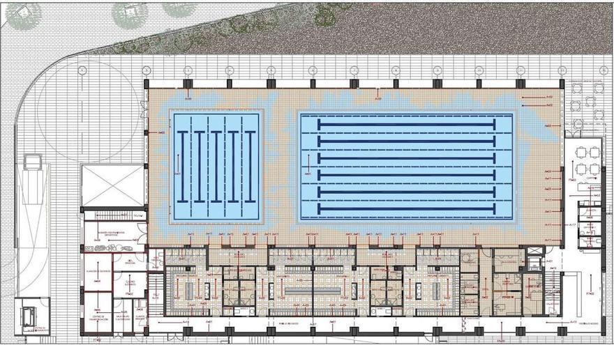 Xàbia adjudica por 4,7 millones las obras de la piscina, que deben terminarse en 26 meses