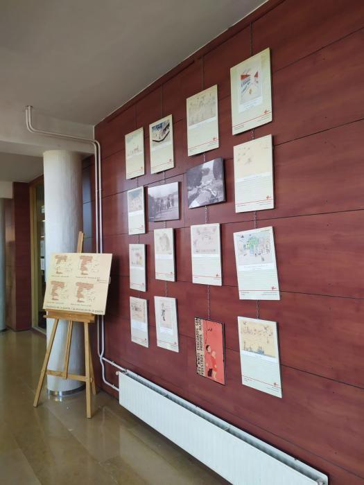 Exposición sobre dibujos de la Guerra Civil