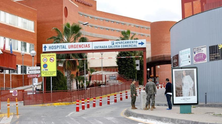 Cinco heridos y retenciones tras un accidente en la carretera que une Las Torres y Alguazas