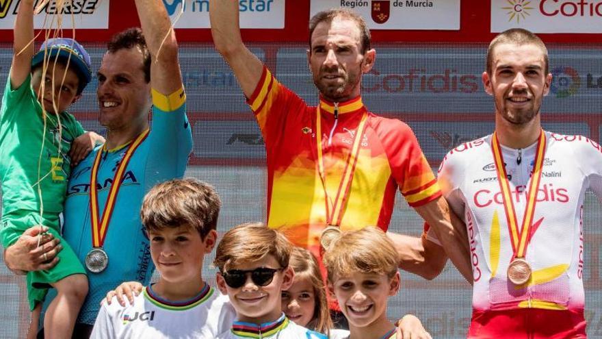 Valverde gana el Campeonato de España por tercera vez
