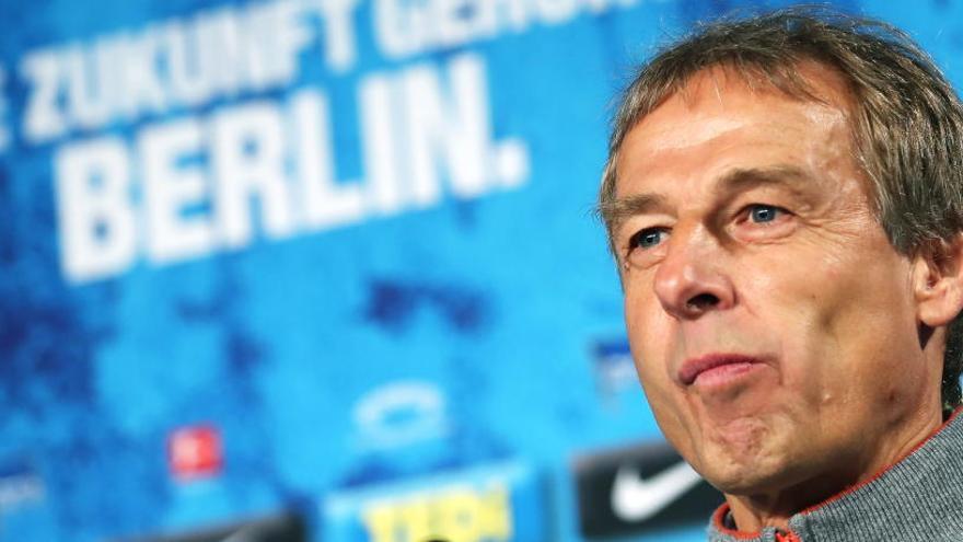 Jürgen Klinsmann renuncia como entrenador del Hertha