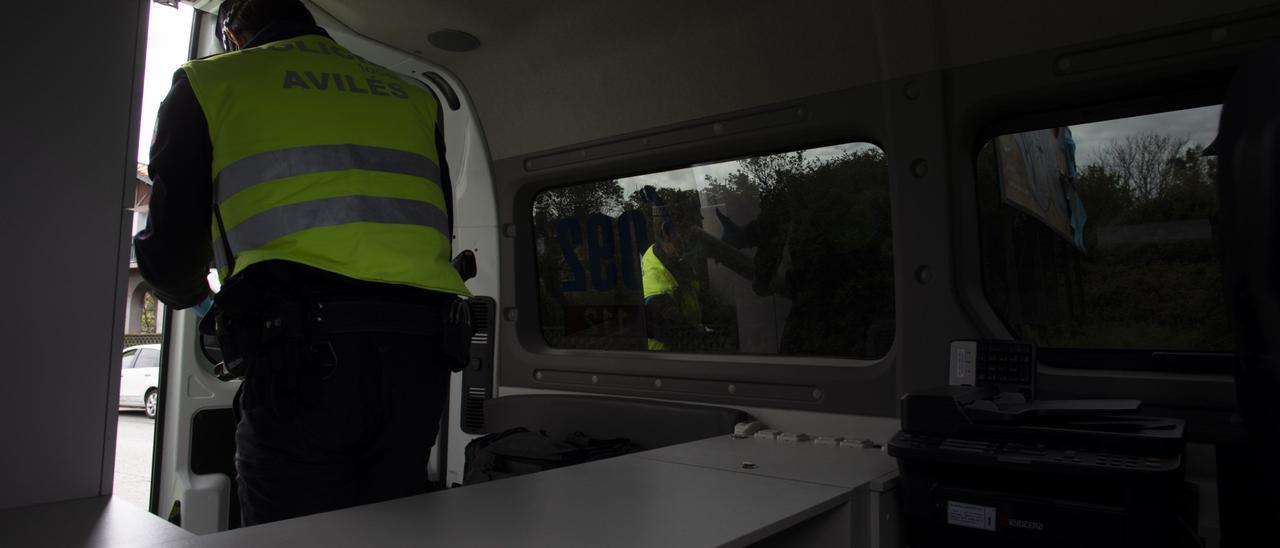 Policía, el sábado en Avilés
