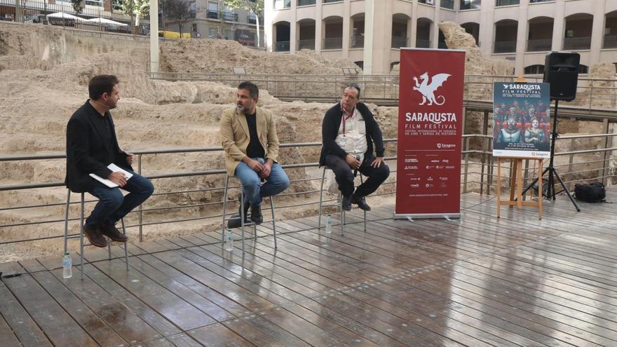 Los refugiados griegos llegan al Saraqusta Film Festival