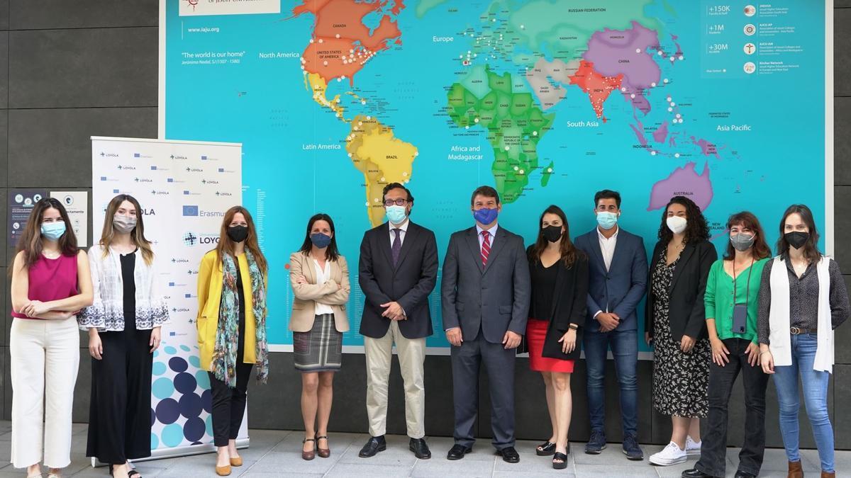 Más de 500 estudiantes internacionales estudiarán en la Universidad Loyola el próximo curso.