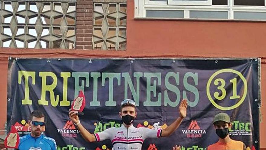 Miquel Faus se proclama ganador  de la prueba BTT de Llanera de Ranes