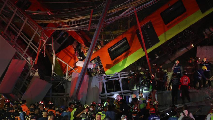 Al menos 23 muertos en un impactante accidente en el metro de Ciudad de México