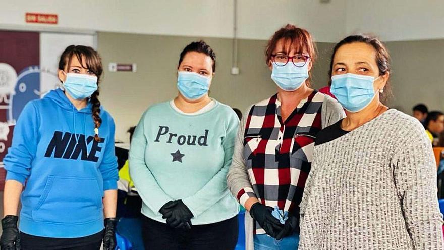 Cuatro madres salvan el comedor de Noreña