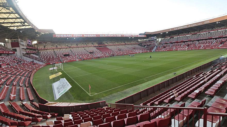 El Sporting, tres millones de euros en el aire por el regreso a los estadios