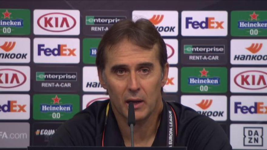"""Julen Lopetegui: """"El equipo ha demostrado carácter y mentalidad"""""""