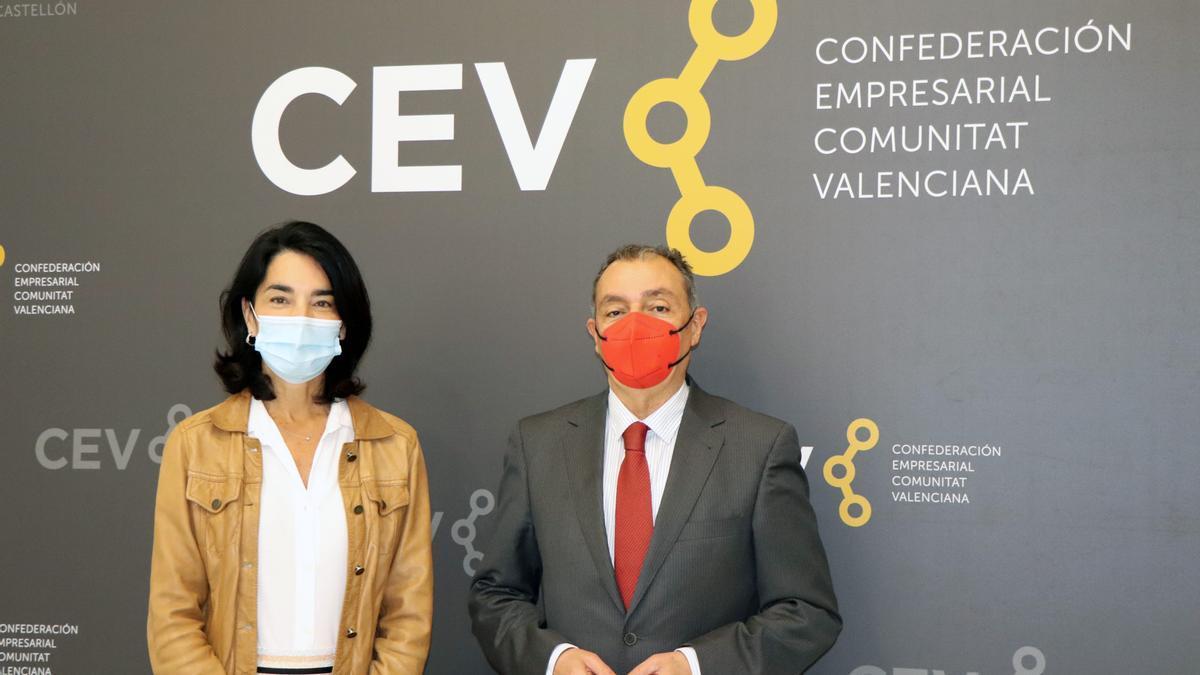 Carmen Ponce y Salvador Navarro, hoy