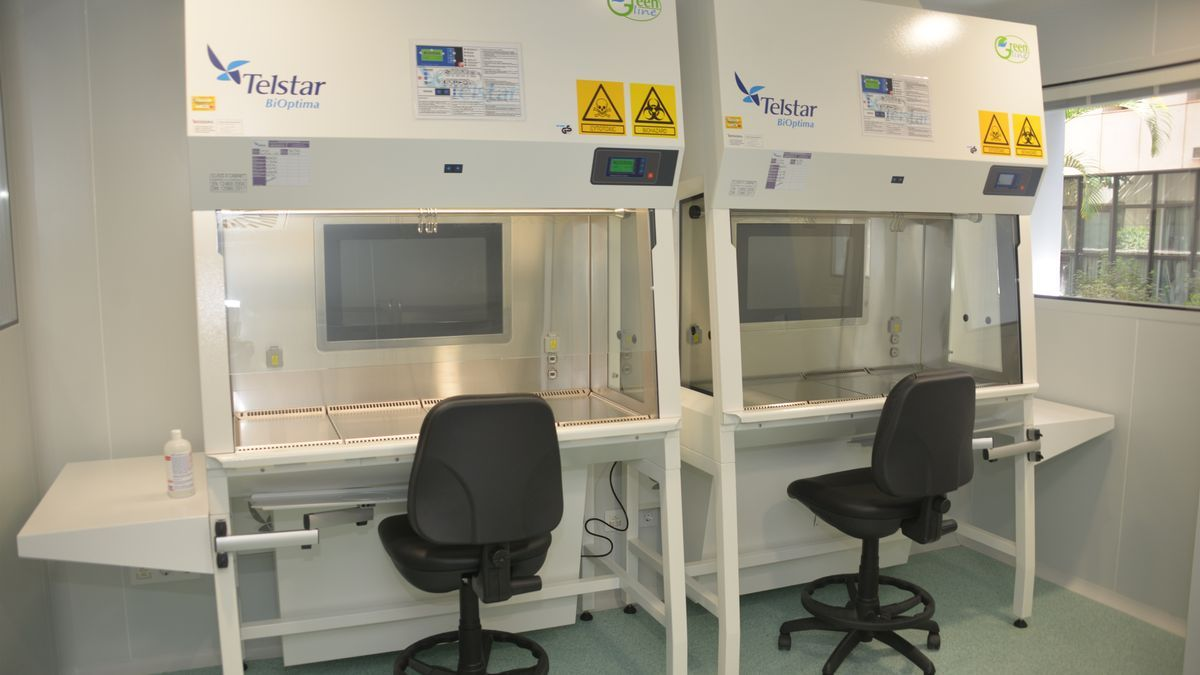 Biological safety cabinets for the preparation of cytostatics.