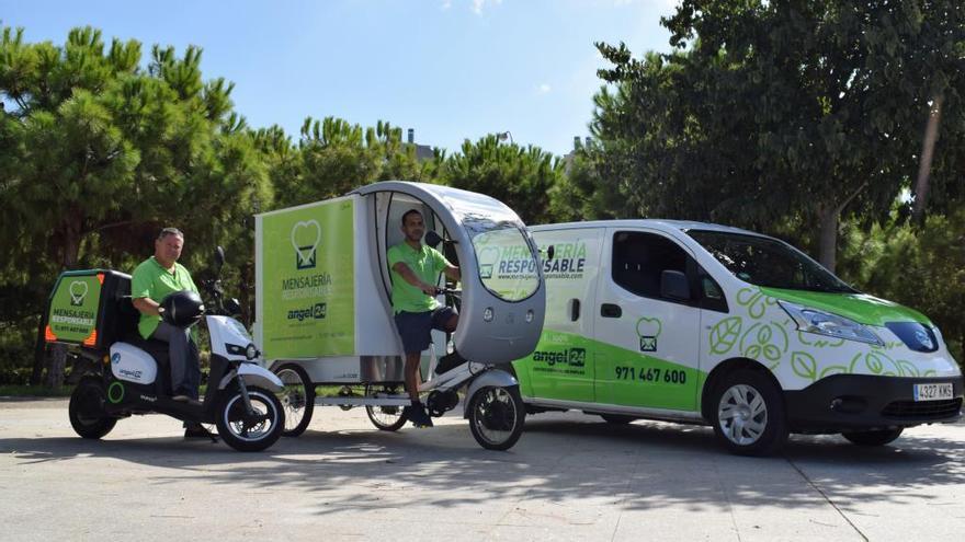Mensajería Responsable: movilidad eléctrica para servicios de reparto urbano