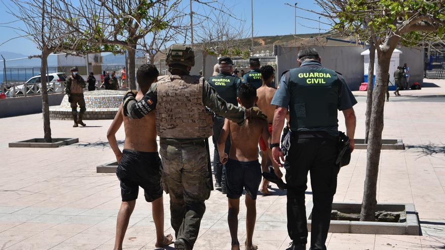 Choque político a cuenta de la acogida de menores de Ceuta