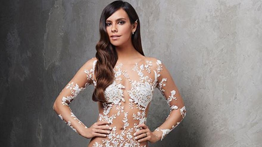 Cristina Pedroche enseña lo que no se vio de su vestido