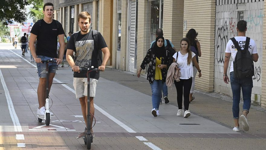 La norma para patinetes llega con un año y medio de retraso a Castelló
