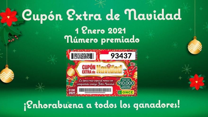 El Extra de Navidad de la ONCE deja casi millón y medio de euros en Málaga capital