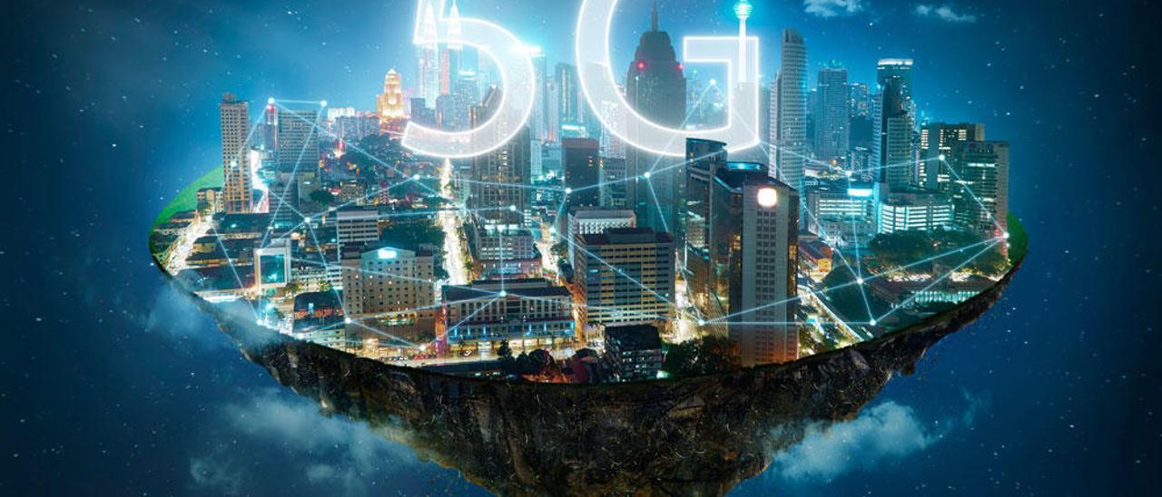 La tecnología 5G se implanta este sábado en España.