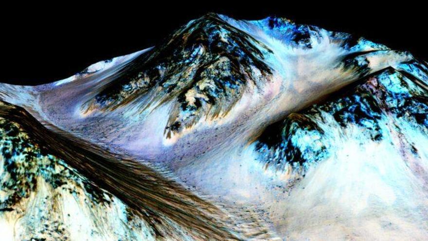 Hace 4.500 millones de años hacía calor en Marte