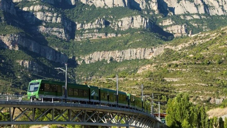 El cremallera de Montserrat i el funicular de Sant Joan baten rècord de viatgers