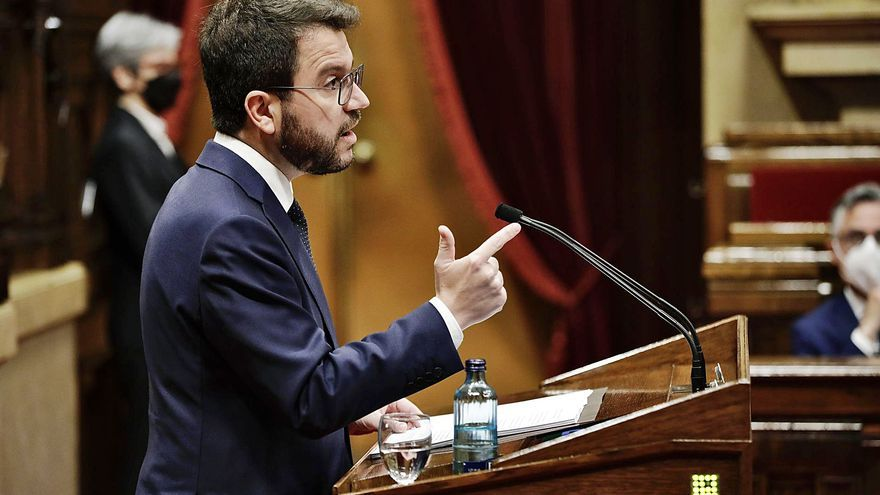 Aragonès estén ponts amb Junts amb la promesa de culminar el procés