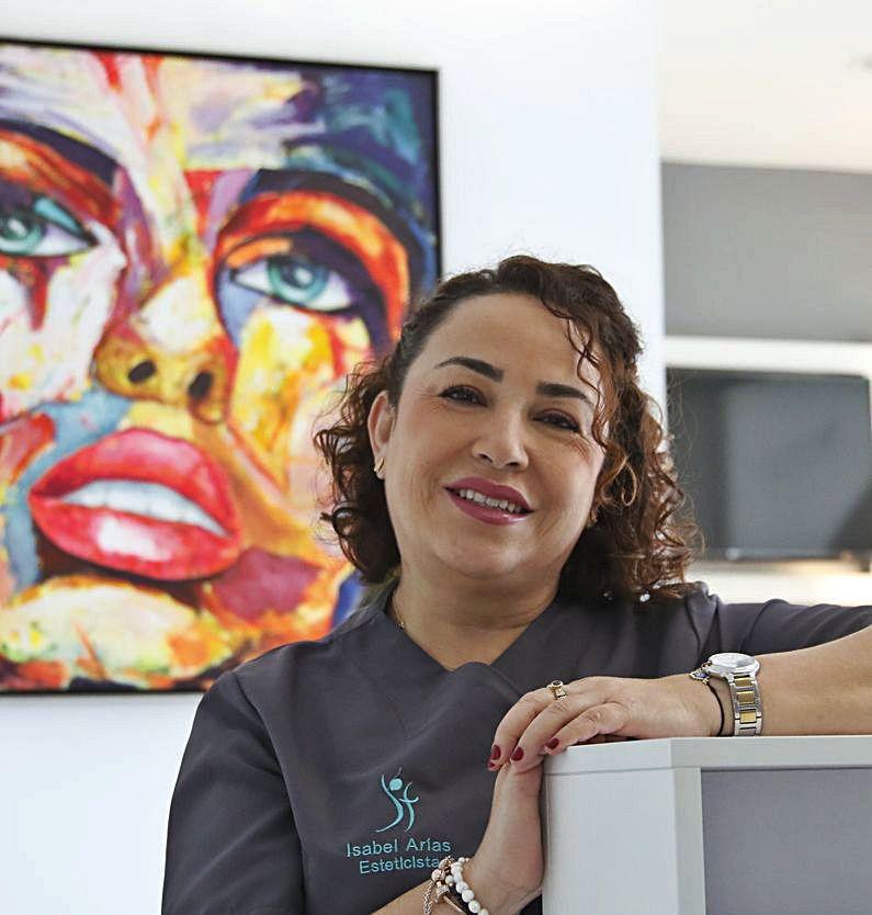 María Isabel Arias, de 50 años, estuvo dos semanas en la uci.