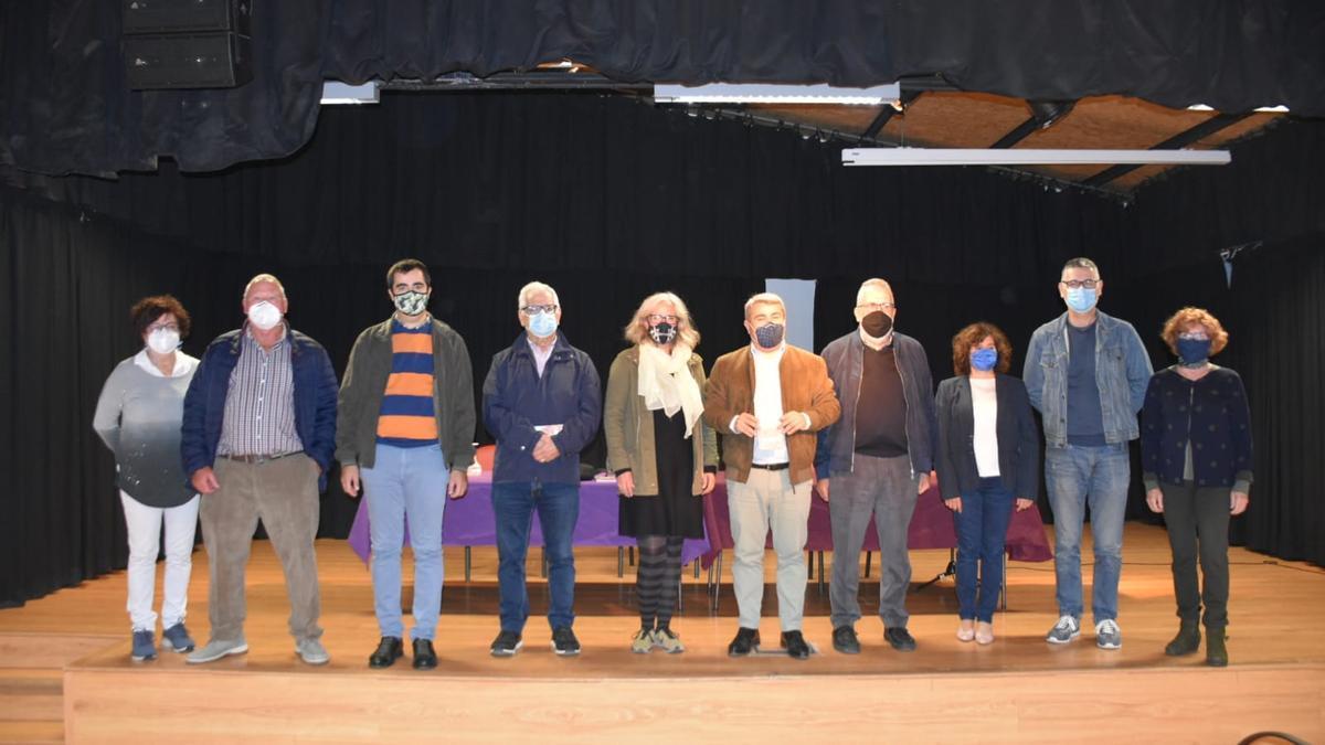 Participantes en la presentación de la nueva guía patrimonial de Inca.