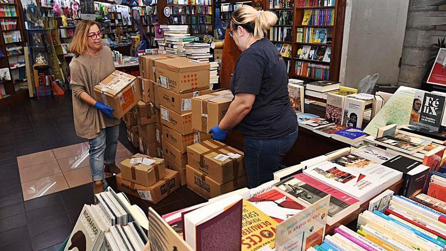 Ocho librerías agotan en solo dos días los bonos municipales para cultura y comercio