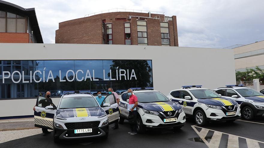 La Policía Local de Llíria renueva su flota de vehículos
