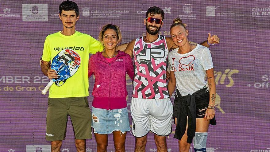 Cartel de un 'Grand Slam' en Las Canteras