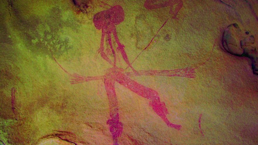 Descubiertos tres nuevos abrigos rupestres en Valmuel