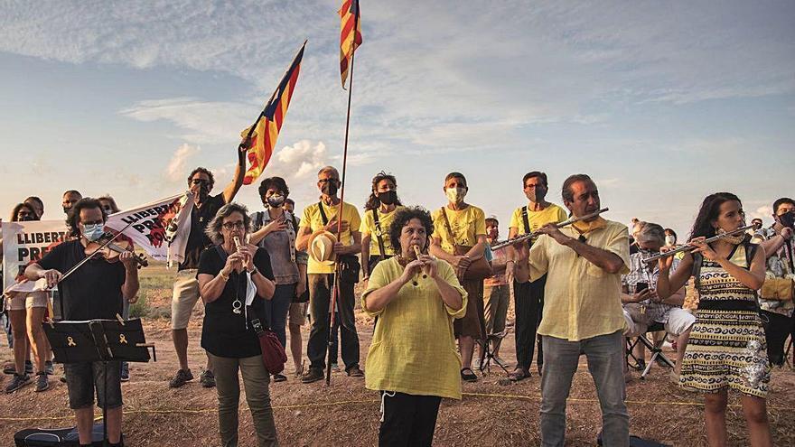 Música per la Llibertat retorna a Lledoners per fer costat als presos