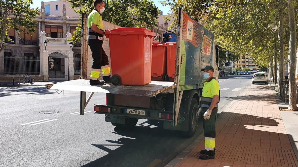 Los contenedores están diseñados para no ser vandalizados