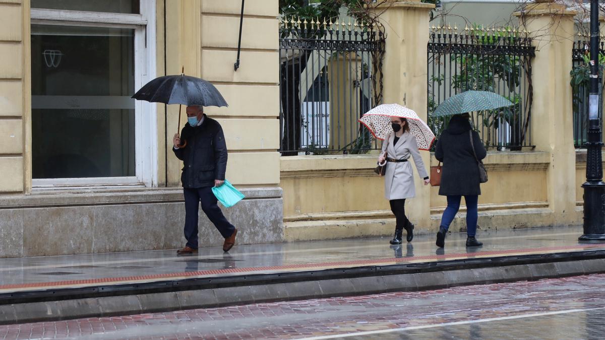 Las lluvias llegarán este domingo de nuevo a Castellón.