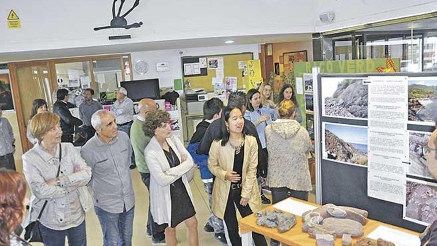 Alumnos del IES de Sineu organizan una muestra sobre los paisajes geológicos de la isla