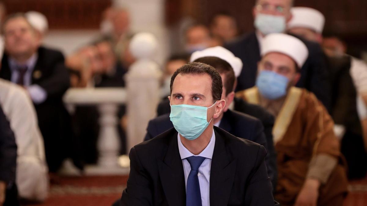 El presidente en funciones de Siria, Bashar Al Assad.