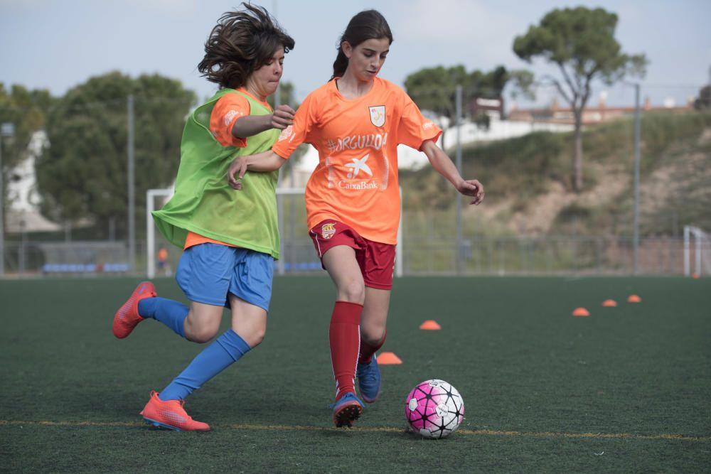 Jornada de futbol femení a Sant Fruitós