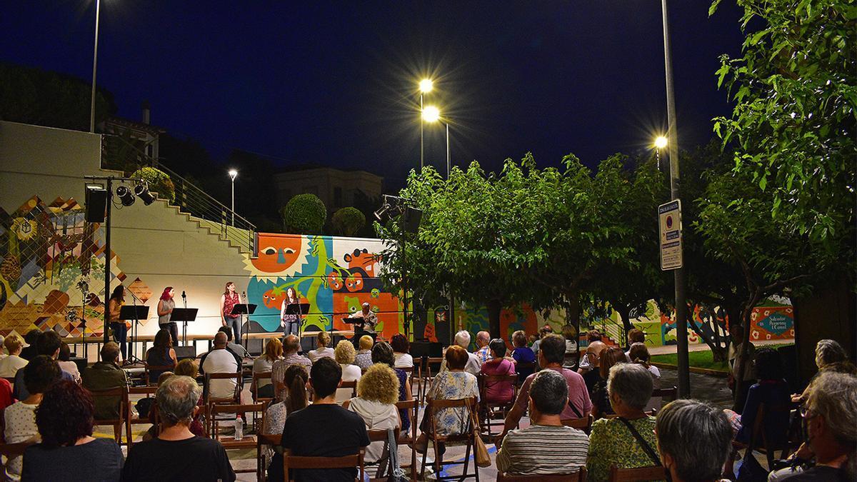 Concert del grup Quarta Justa i Francesc Vallès, dins dels actes de pròleg de la Festa Major