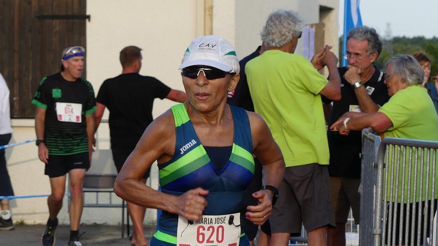 María José Tomaz corre 609 kilómetros en los Seis Días de Hungría