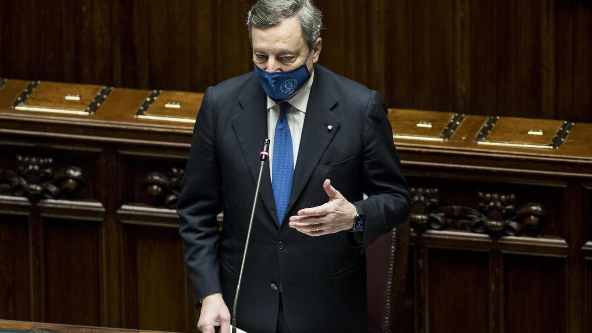 El primer ministro italiano, Mario Draghi.