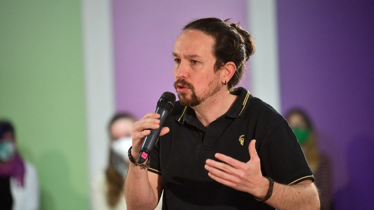 El candidato de Unidas Podemos a la presidencia de Madrid