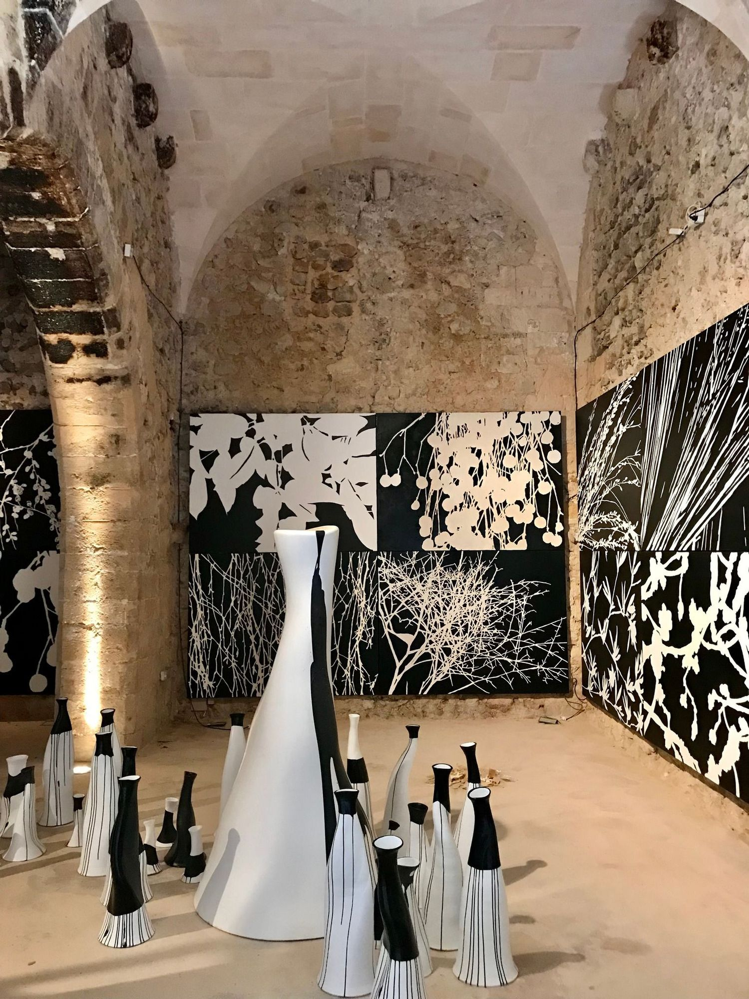 Lin Utzon presenta la exposición 'Cosmic Dance' en Sa Torre de Canyamel